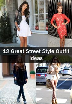 Check out the latest fashion trend on the streets. Use these beautiful outfits like inspiration and always look stylish and trendy.