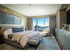 Master bedroom at 500 Atlantic Ave 16K, Boston, MA, 02210