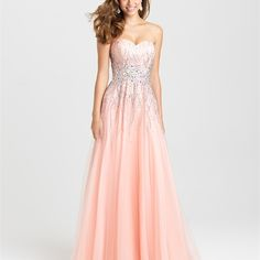 Style: 16-369 - It's impossible to choose a favorite color for this soft, A-line gown. It's a true classic.