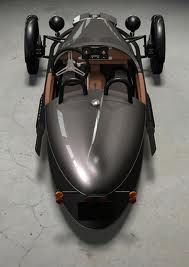 Morgan.... motorcycle engine but its a car!