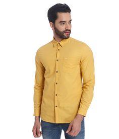 Jack & Jones Yellow slim fit shirt. Buy now  https://www.snapdeal.com/product/jack-jones-yellow-slim-fit/675800196028