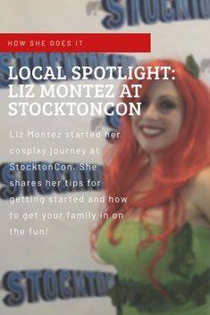 Local Spotlight: Liz Montez started her cosplay journey at StocktonCon