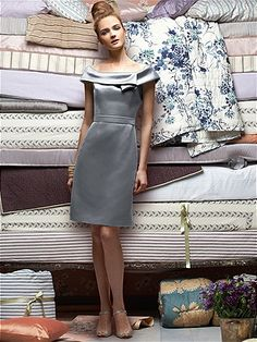 Lela Rose Bridesmaids Style LR155  #Gray #Bridesmaid #Dresses