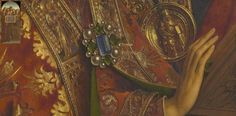 Detail from The Ghent Altarpiece by Jan van Eyck completed in 1432