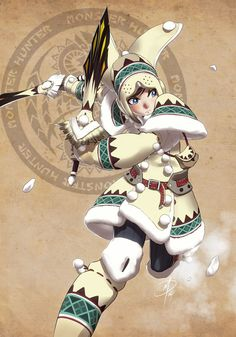 Monster Hunter - Snow Bunny by polarityplus.deviantart.com on @deviantART