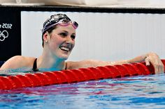 Missy Franklin. Wish I could meet her! She is one of my heroes. Makes me wish I was a swimmer<3 So inspirational.