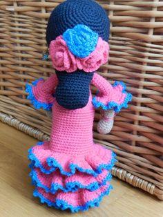 Flamenca amigurumi
