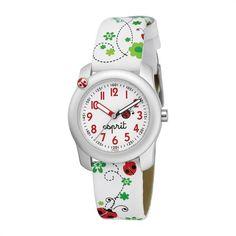 Esprit Kids Kinderuhr Lucky Love Red ES103514007 http://www.thejewellershop.com/ #kids #love #watch #uhr #esprit #jewelry #schmuck #kinderuhr