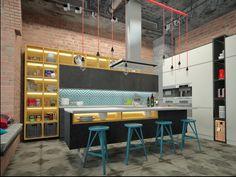 В стиле JAZZ - Кухня в современном стиле | PINWIN - конкурсы для архитекторов, дизайнеров, декораторов