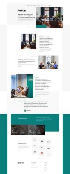 Świecki - Law Firm Website on Behance Law Firm Website, Jobs Apps, Online Portfolio, Motion Graphics, Ui Design, Behance, User Interface Design, Ux Design