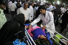 Two Powerful earthquakes strike Iran, killing dozens, destroying villages. Two strong earthquakes struck northwest Iran on Saturday, killing 87 people, injuring hundreds and scaring thousands into fleeing their homes as aftershocks continued to hit the area, Iranian state media said.
