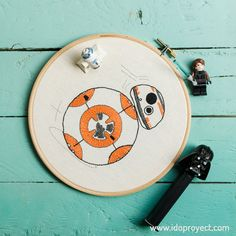 bb-8 free pattern embroidery punch needle star wars