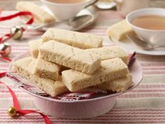 Classic Shortbread ... This satisfying shortbread is as easy as it gets. It's simultaneously crisp, crumbly and tender because we've added a little cornstarch to the flour. And granulated sugar gives the cookies their gorgeous golden color.