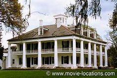 Hush... Hush, Sweet Charlott location: Houmas House, Burnside, Louisiana. Between New Orleans and Baton Rouge on Route 44