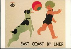 National Railway Museum - NRM53 - East Coast by L.N.E.R Listing in the Advertising,Postcards,Collectables Category on eBid United Kingdom