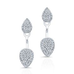 Yellow Gold Pear Shaped Floating Earrings Measures in length Color Yellow Gold Primary Stone Diamond Approx. Carat Weight Number of Gold Jewelry, Jewelry Box, Diamond Earrings, Fine Jewelry, Jewellery, Graduation Jewelry, Pear Shaped, Belly Button Rings, Jewelry Design