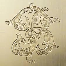 Engraving metal