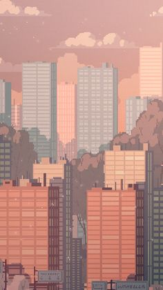 Russian artist best known as Waneella creates pixel art works. Here are s… Russian artist best known as Waneella creates pixel art works. Here are some gif pictures of urbanscapes from her new series Pixel Cities! Aesthetic Anime, Aesthetic Art, Aesthetic Drawing, Arte 8 Bits, 8bit Art, Poster Print, Gif Pictures, Grafik Design, Oeuvre D'art