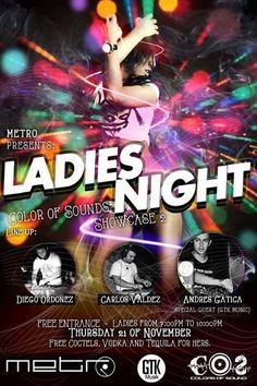 Show case 2 – Ladies Night @ Guatemala
