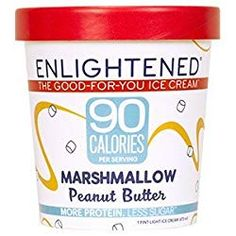 They say you're nuts if you don't love this flavor. Marshmallow ice cream with swirls of creamy peanut butter. This is the high protein, low sugar ice cream you've been looking for. Try Enlightened Marshmallow Peanut Butter ice cream today! Keto Diet Guide, Keto Diet Benefits, Keto Diet Plan, Diet Tips, Best Diets To Lose Weight Fast, Best Weight Loss Foods, Keto Diet Vegetables, Veggies, Keto Approved Foods