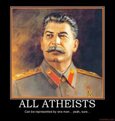 """""""Stalin and Hitler were Atheists!"""" This argument really annoys me! There is very little evidence to prove that Hitler was an atheist. He was rasied as a Roman Catholic and once stated that he would always be a Catholic. Futhermore, Hitler actually refers to God creating the Arian race and that he was doing the work of God in Mein Kampf. Although Hitler disliked Jewish people and wished for the world to be primarily Arian, the motivations behind genocide were due to his nationalism not his…"""