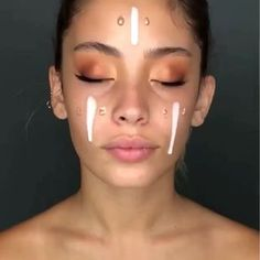 Gorgeous Makeup: Tips and Tricks With Eye Makeup and Eyeshadow – Makeup Design Ideas Contouring Makeup, Makeup 101, Glowy Makeup, Cute Makeup, Gorgeous Makeup, Makeup Goals, Natural Makeup, Easy Makeup, Makeup Trends