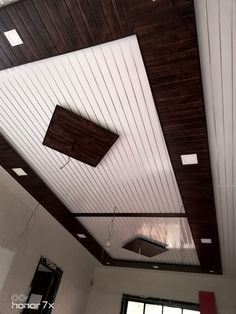 Discover recipes, home ideas, style inspiration and other ideas to try. Wooden Ceiling Design, Drawing Room Ceiling Design, Simple False Ceiling Design, Gypsum Ceiling Design, Interior Ceiling Design, House Ceiling Design, Ceiling Design Living Room, Bedroom False Ceiling Design, False Ceiling For Hall