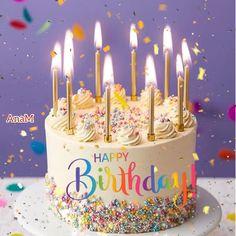 Happy Birthday Didi, Happy Birthday Flowers Wishes, Animated Happy Birthday Wishes, Happy Birthday Greetings Friends, Happy Birthday Best Friend, Happy Birthday Celebration, Birthday Cake Gif, Happy Birthday Cake Photo, Happy Birthday Cake Pictures