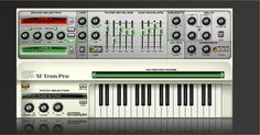 M-Tron Mellotron... I don't know why but I'm obsessed with wanting to the sound of mellotron's in my productions... this is one of but a very few software instrument plugins I'm interested in adding to my studio at this point.