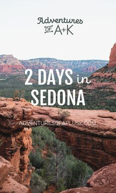 Our Sedona itinerary and guide filled with the best hikes, places to eat, where to stay, and other fun activities if you have 2 days in Sedona! Arizona Travel, Sedona Arizona, Arizona Trip, New Orleans, New York, Sedona Things To Do, Sedona Hikes, Sedona Camping, Sedona Tours