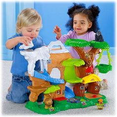 NEW Fisher Price Little People Zoo Talkers Animal Sounds Zoo