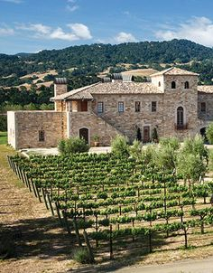 Santa Barbara honeymoon? Steal away for an extra heavenly day with a trip to Sunstone Vineyards & Winery, where you'll get a taste of Tuscany in California.