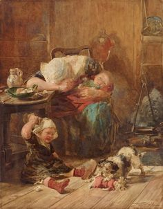 An image of Widowed and fatherless by Thomas Walter Wilson