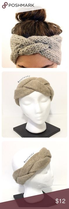 H & M braided head band PRELOVED in excellent condition, used only a few times. this head wrap/head band is super cute on (a human, with hair 😜)  materials ・44% polyamide ・43% acrylic ・13% wool  due to lighting- color of actual item may vary slightly from photos. please don't hesitate to ask questions. happy POSHing 😊  💰 use offer feature to negotiate price 🚫 i do not trade or take any transactions off poshmark  h-05 H&M Accessories Hair Accessories