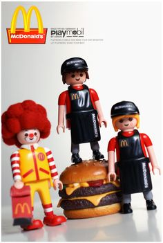 Playmobil mcdonalds / photobyamon