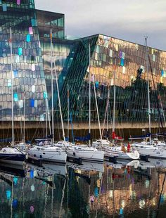 Harpa, Reykjavik's award-winning concert hall and conference center, impresses on the inside and out.