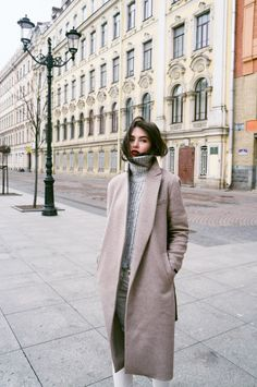 Anastasia Strunevskaya Street Style November 2014