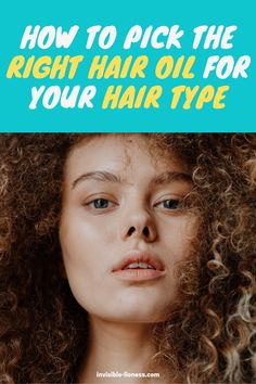 Wondering which oil types for hair exist? This guide shows you all kinds of hair oils - and which one to use for which hair type! Diy Hair Care, Curly Hair Care, Hair Care Tips, Curly Girl, Wavy Hair, Long Hair Tips, Grow Long Hair, Easy Hairstyles For Long Hair, Cool Hairstyles