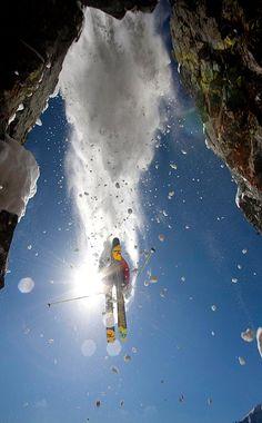 Bissell Hazen extreme ski photo