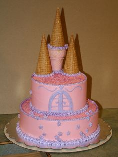 castle cake - Google Search