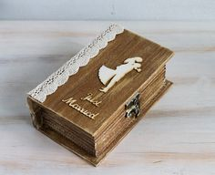 Rustic Wedding Ring Box Ring Bearer Box by MyHouseOfDreams on Etsy