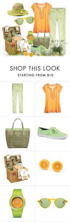 """""""Contest"""" by dgia ❤ liked on Polyvore featuring Abercrombie & Fitch, Calypso St. Barth, Tosca Blu, Keds, Alessi, Barton Perreira and Vince Camuto"""