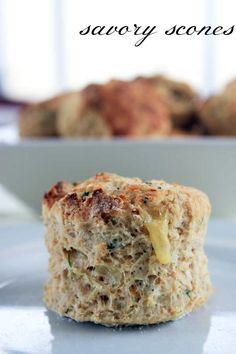 Savory scones - The Veggie Mama
