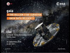 Watch Gaia first data release media briefing / Gaia / Space Science / Our Activities / ESA