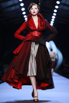c6d767accc A look from the Christian Dior Haute Couture Spring-Summer collection in  Paris.