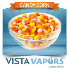 Candy Corn - The famous Halloween candy is now in to vape. Sweet candy flavor that gives just a kicker aftertaste. #ecig #ejuice #eliquid #ecigs #ejuices #eliquids ..... Order today! ----> http://vistavapors.iljmp.com/1/ejuices