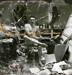 George Dyer in the Reece Mews Studio by John Deakin
