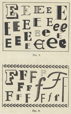 """A guide to lettering"" via pilllpat (agence eureka), via Flickr"