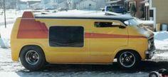 The Vans are back in town Custom Paint Jobs, Custom Vans, Station Wagon, Dodge Van, Chevy Van, Old School Vans, Automobile, Vanz, Cool Vans
