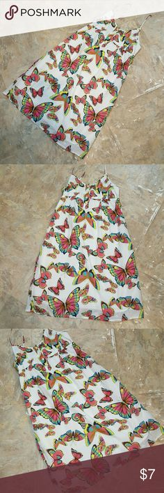 Old Navy Dress Size Small Butterfly Excellent condition.   Feel free to ask any questions before purchasing.   Thanks for shopping my closet! Old Navy Dresses